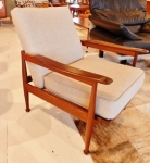 Danish Modern design recliner armchair