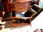 Mid-Century Modern Recliner Lounge Chair