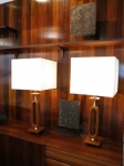 Stunning pair of American lamps.