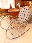 Mid-Century Modern Original Chrome Rocker