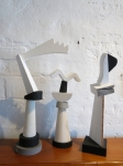 Trilogy Sculpture by Theo Koning