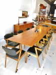 Kai Kristiansen #42 chairs in oak - set of 10