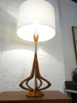 Stunning sculptural lamp