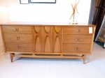 Sculptural Mid Century Modern Sideboard in American Walnut