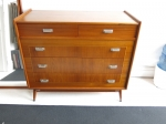 American Mid-Century chest of drawers