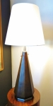 Monumental lamp with new shade and wiring 