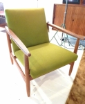 Danish 1960's oak armchair