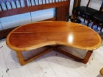 Bean shaped coffee table USA 1950