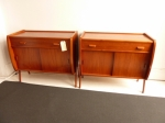 Pair of Danish Side Cabinets in Teak