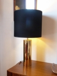 American heavy brass lamp