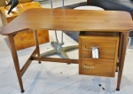 Stunning compact desk in American Walnut