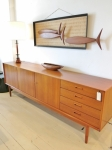 Long Danish sideboard