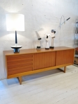 Sideboard in oak & teak by Kurt Ostervig