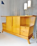 Elegantly designed credenza circa 1940-50 