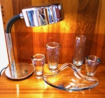 Selection of vintage Holmegaard glassware