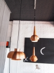 Assortment of Danish pendant lamps 