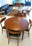 Danish extension table in Teak