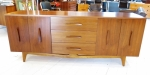 4 door & 3 drawer American Mid-Century sideboard