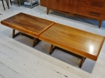 Pair of American side-tables 