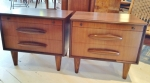 Pair of side cabinets by Jacob Rudowski 