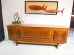 Australian Sideboard with top opening bar section.