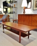Danish coffee table in teak