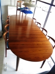 Extension table with maximum extension of 3200 mm long x 1200 mm width
