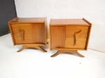 Pair of side cabinets