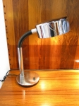 German 1970's chrome desk lamp