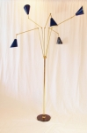 Italian multi lamp floor lamp