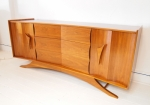 American sculptural design credenza