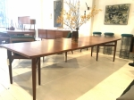 Danish mid century Teak dining table by Arne Vodder