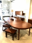 Monumental Danish Teak dining table
