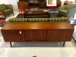 Low Danish teak sideboard