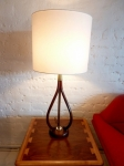 PAIR OF AMERICAN MID-CENTURY LAMPS