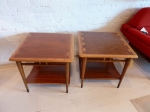 Pair of American Mid-Century Sidetables