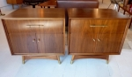 PAIR OF AMERICAN 1950'S SIDE CABINETS