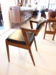 Kai Kristianen 42 dining chairs in Rosewood.  Pair