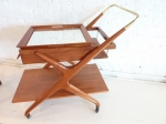 MID-CENTURY MODERN BARCART by CAESAR LACCA