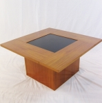 DANISH COFFEE TABLE WITH POP-UP BAR